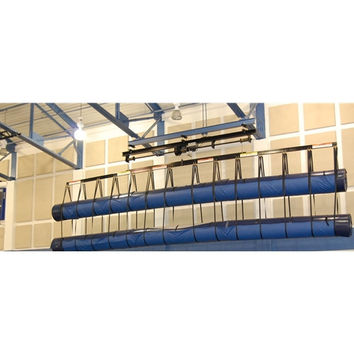 Gared Sports Mat Storage System with 40' Load Bar