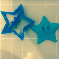 Star With Eyes Cookie Cutter