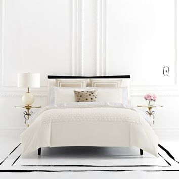 kate spade new york lace dot duvet cover & sham set | Nordstrom
