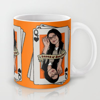 Vause - The Queen of Hearts Mug by Vague