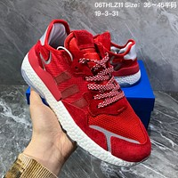 hcxx A1100 Adidas Nite Jogger 2019 EQT Boost Fashion Running Shoes Red