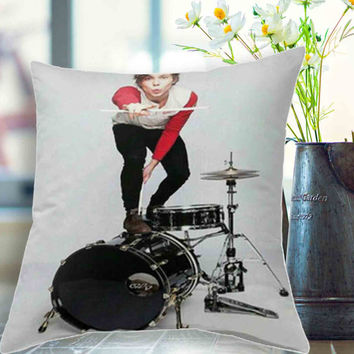 "Ashton on teen now Pillow,5 seconds of summer, 5sos pillow case # 18"" x 18"" , 16"" x 24"" , 20"" x 30"""