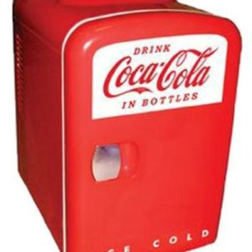 Koolatron KWC-4 Coca-Cola Personal 6-Can Mini Fridge