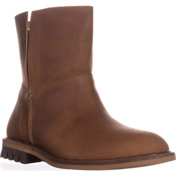Kelsi Dagger Brooklyn Borough Ankle Booties, Chestnut, 6.5 US