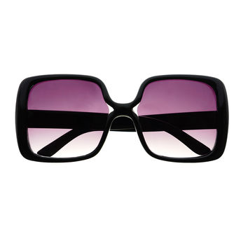 Retro Square Butterfly Style Oversized Sunglasses Shades O10