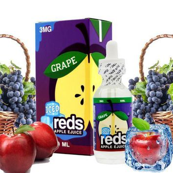 Reds Apple Juice with Grapes (Menthol) E Liquid