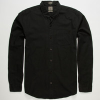 Volcom Weirdoh Faded Mens Shirt Black  In Sizes
