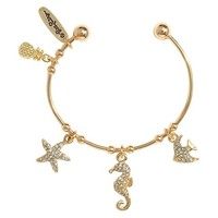 Lilly Pulitzer for Target Women's Charm Bangle - Gold