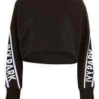 Knitted Panel Sweatshirt by Ivy Park | Topshop