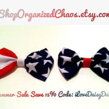 Custom Nautical Unisex Bow (2 pack): SALE