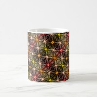 Colorful Magic Lights Pattern Coffee Mug