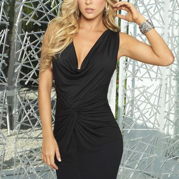 Black Party Short Dress