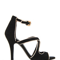 MANGO - NEW! - Crossed straps sandals