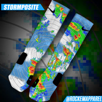 Custom Nike Elite Socks - Stormposite | Rock 'Em Apparel