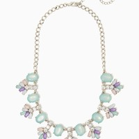 Sancia Cluster Necklace | Fashion Jewelry – Belle de Jour | charming charlie