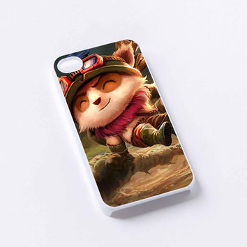Teemo, League of Legends iPhone 4/4S, 5/5S, 5C,6,6plus,and Samsung s3,s4,s5,s6