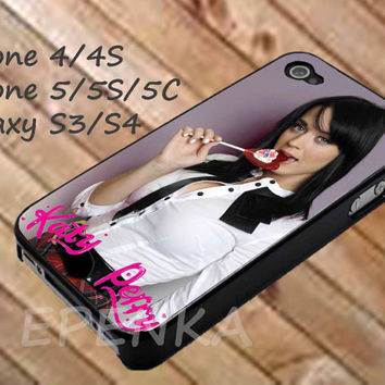 Katy Perry Lollipop Hot, katy perry case, iphone 4/4S/5/5S/5C, Samsung Galaxy S3/S4, iPod Touch 4/5