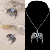 Ravenclaw Retro Lost Diadem Tiara Crown Pendant Horcrux Necklace Harry Potter = 5617001473