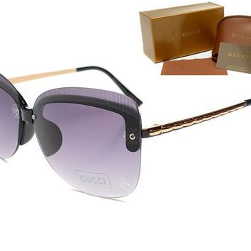 Gucci sunglass AA Classic Aviator Sunglasses, Polarized, 100% UV protection [2974244886]