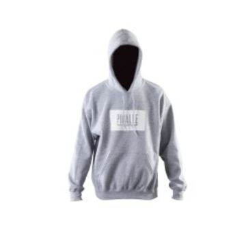Pigalle Box Logo Hooded Sweatshirt (Grey)