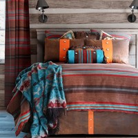 Canyon View Striped Bedding Set