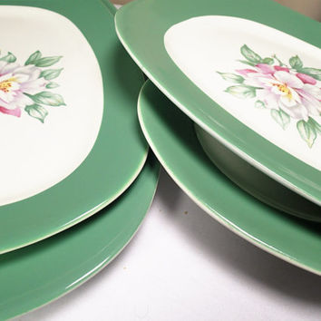 Taylor Smith and Taylor Lady Helen Platters, dinner plates.
