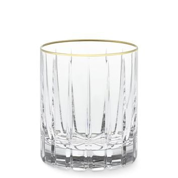 Dorset Double Old-Fashioned Glasses, Set of 4, Gold