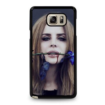 lana del rey samsung galaxy note 5 case cover  number 1