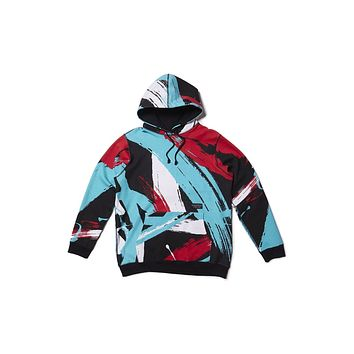 Raised By Wolves Meggs Hooded Sweatshirt - Peace Camo