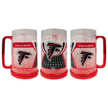 16Oz Crystal Freezer Mug NFL - Atlanta Falcons