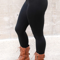 Fleece Lined Leggings Regular