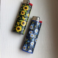 Sunflower Custom Lighter