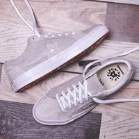 DCC3W Converse one star X Golf Le Fleur 'Gray' Sneaker