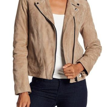 The Kooples | Suede Moto Jacket | Nordstrom Rack