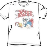 Speed Racer T-Shirt Disressed Speed Racing Movie Adult S-XXL Officially Licensed
