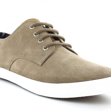 Fred Perry Foxx Suede 'Driftwood' Sneakers