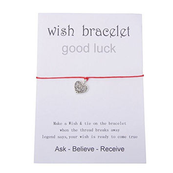 Good Luck Wish Bracelet with Card