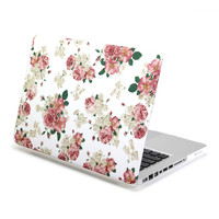 Hard Case Print Frosted (Floral Pattern) for 13 MacBook Pro
