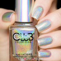 Color Club Star Light Star Bright Nail Polish (2015 Halo Hues Collection)