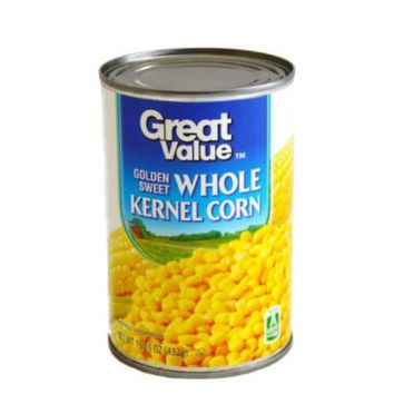Great Value Golden Sweet Whole Kernel Corn, 15.25 Oz - Walmart.com