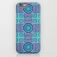 Mandala Tiles iPhone & iPod Case by Sarah Oelerich