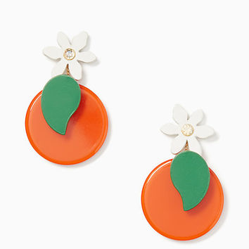 citrus crush statement earrings