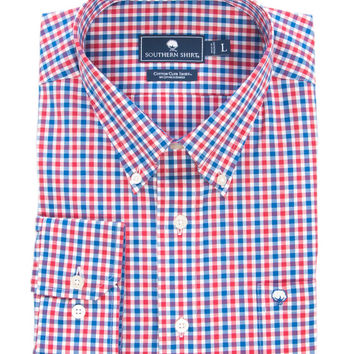 Southern Shirt Co - Jameson Check Cotton Club Shirt Long Sleeve