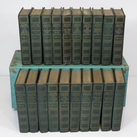 Mark Twain Book Set 20 Volumes Author's National Edition P. F. Collier Samuel Clemens