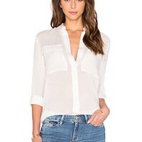 Axobridge Button Up in White