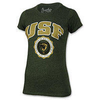 Women's Press Box South Florida Bulls College Maude Melange T-Shirt