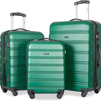 Travelhouse Luggage Set 3 Piece Expandable Lightweight Spinner Suitcase