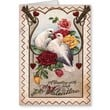 Loving Dove Couple Greeting Card