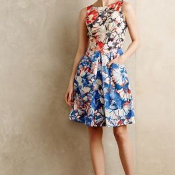 Melia Dress by Donna Morgan Blue Motif