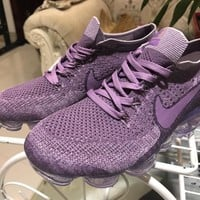 2018 WMNS Nike Air VaporMax Flyknit 849557 500 Purple Size US5.5-8.5